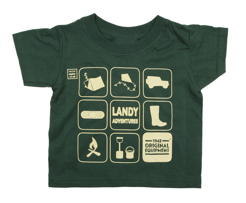 Landy Adventure Kid''s Tee - Green