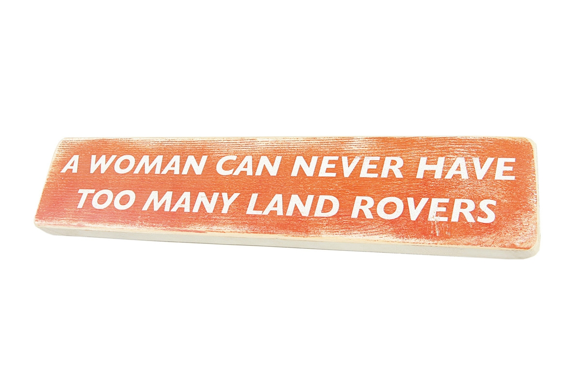 Wooden Sign - Woman''s