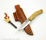 Casstrom No. 10 Forest Knife with Fire