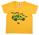 Wheels on the Bus Kid's Tee