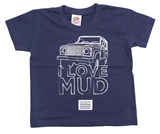 Love Mud Kid's Tee - Navy