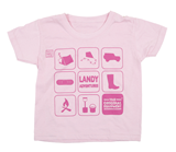 Landy Adventures Kid''s Tee - Pink